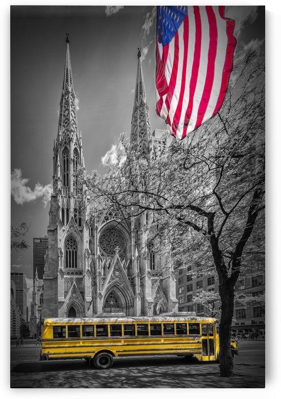 NEW YORK CITY St. Patrick's Cathedral by Melanie Viola