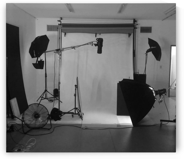 Black and White Studio by D - Mitch The Poet