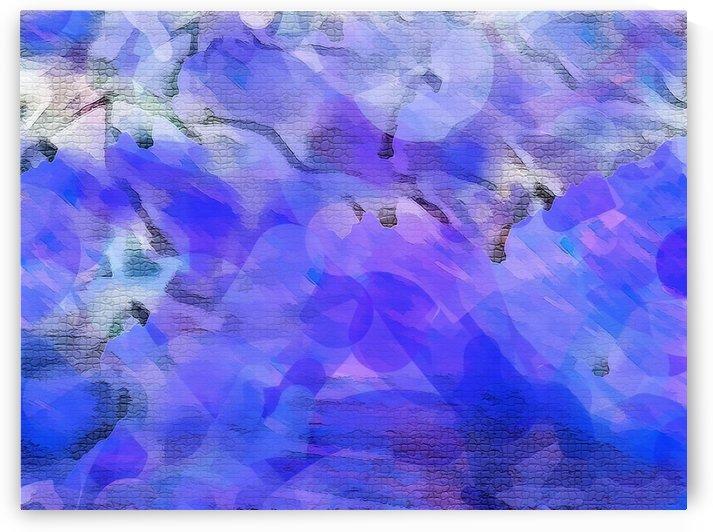 Textured Purple by Nina