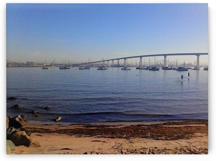 Coronado Beach, San Diego, Ca by D - Mitch The Poet