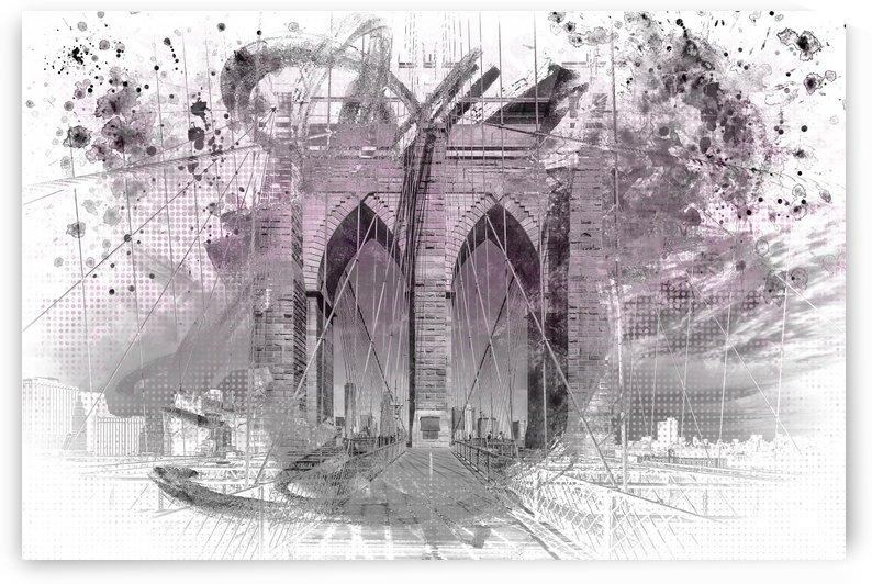 City Art Brooklyn Bridge in Detail |  by Melanie Viola