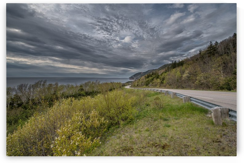 Springtime on the Cabot Trail by Michel Soucy