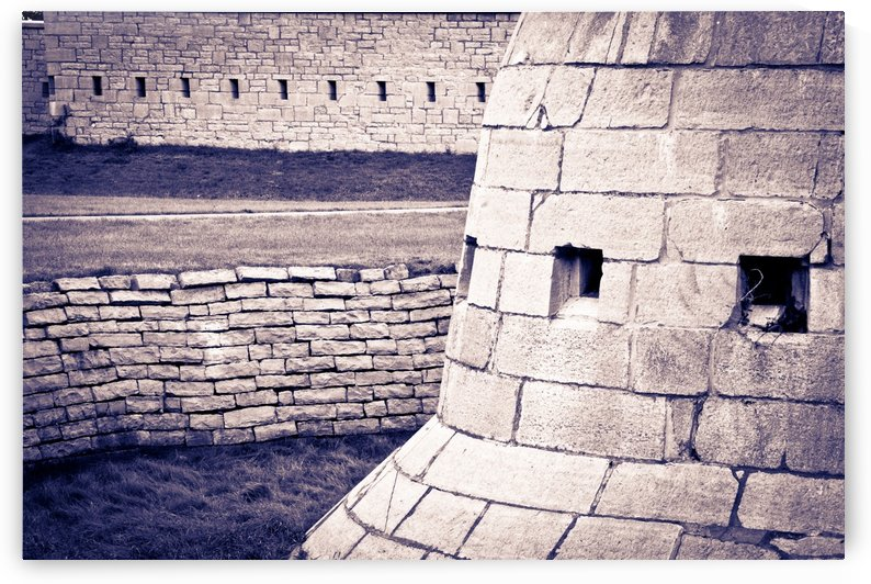 Fort Frederick At Rmc by Michel Soucy