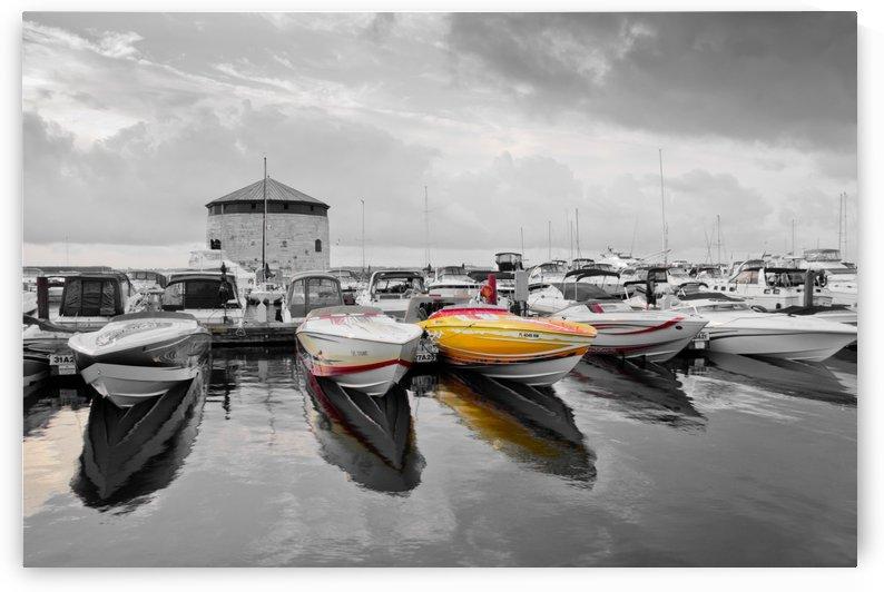 Cigarette Boats by Michel Soucy