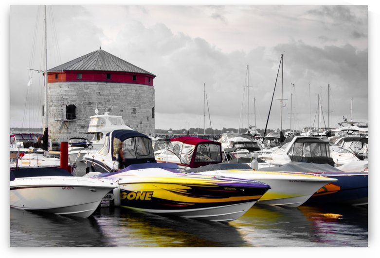 Poker Run At The Shoal Tower by Michel Soucy