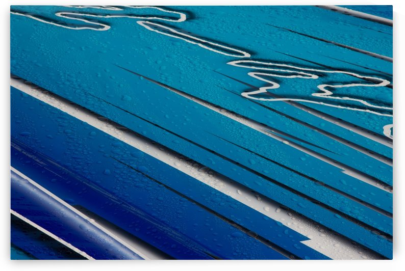 Diagonally Blue by Michel Soucy