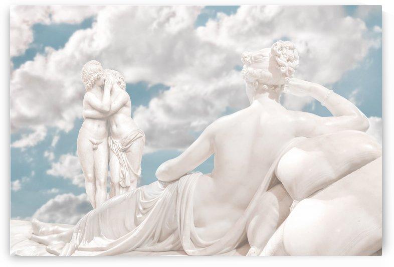 Fantasy Oneiric Sensual Scene by Daniel Ferreia Leites Ciccarino