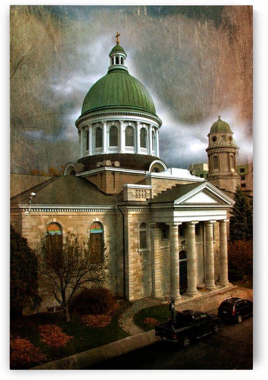 St Georges Cathedral by Michel Soucy