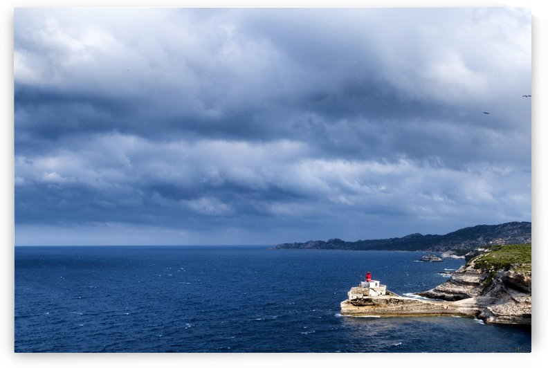 The strait of Bonifacio by Pietro Ebner