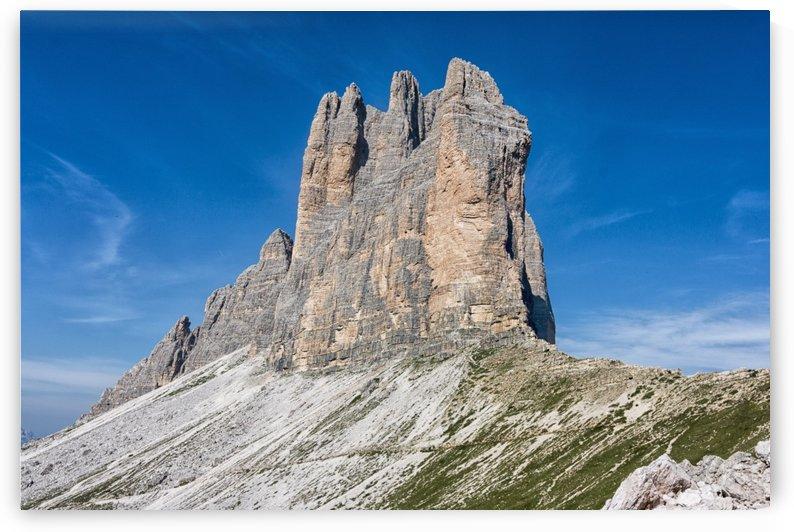 Three peaks of Lavaredo by Pietro Ebner
