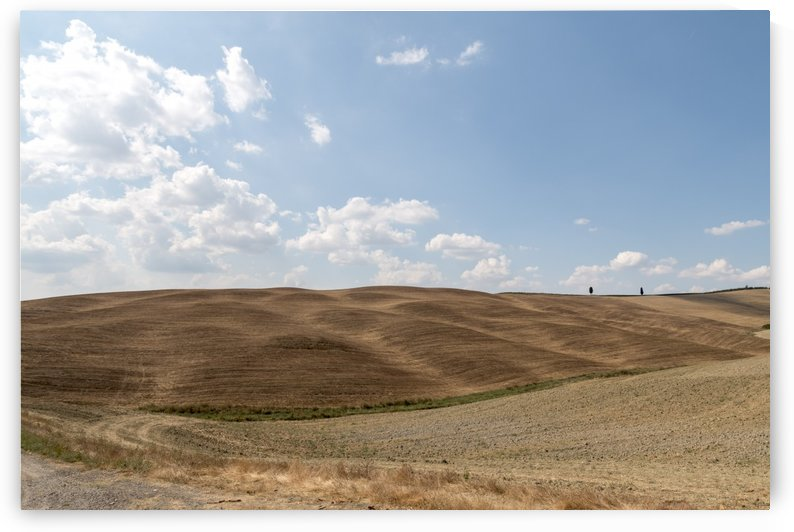 Val D Orcia landscape by Pietro Ebner