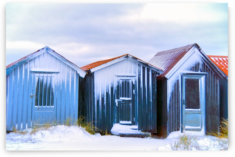 Small Cottages by Kirsten Warner