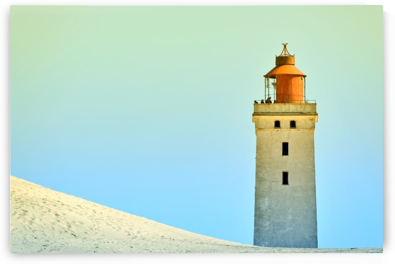 Lighthouse Rubjerg Knude by Kirsten Warner