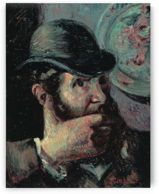 Selfportrait by Armand Guillaumin
