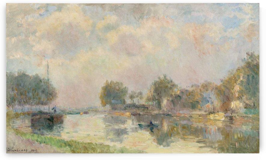 Am Flussufer by Albert Lebourg