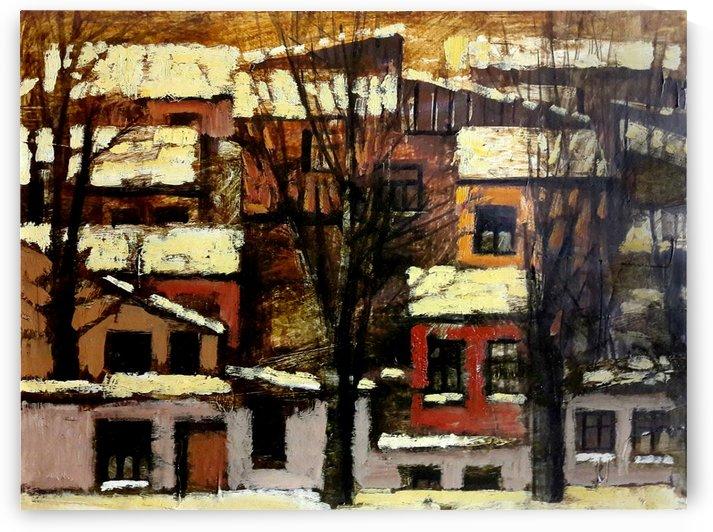 Old Town 5 by Zurab Gikashvili