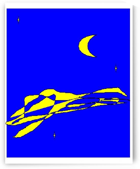 Art 02 Blue night by Dragan Mrkalj