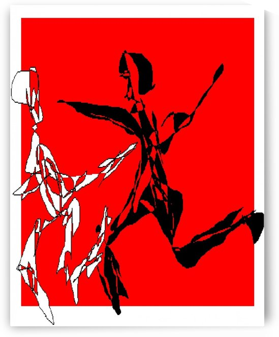 Art 05 Art dancers by Dragan Mrkalj