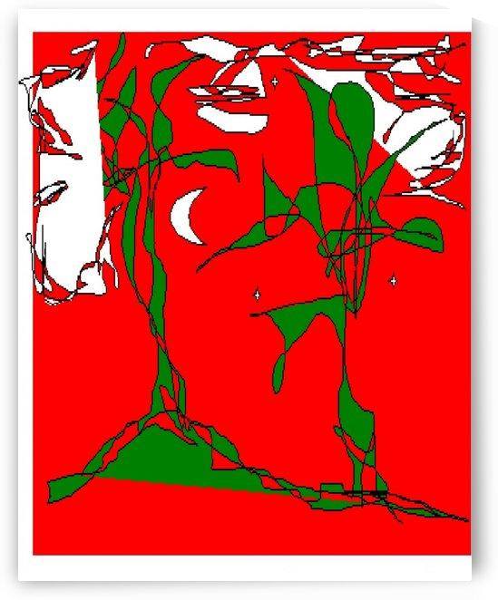 Art 06 Red summer by Dragan Mrkalj