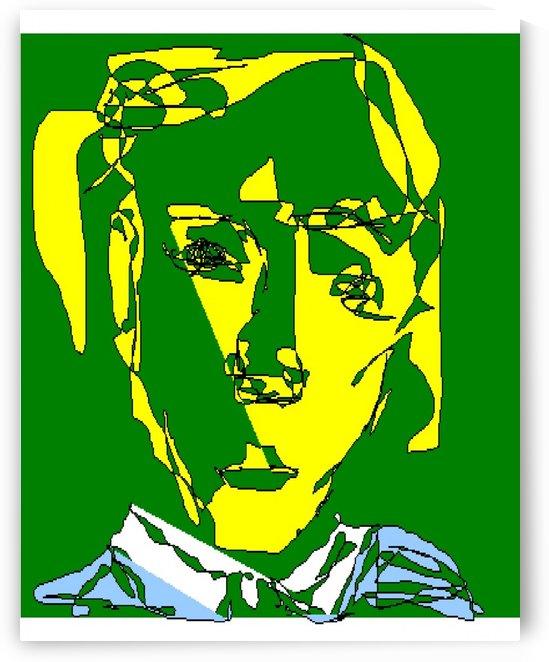 Art 07 Green charm by Dragan Mrkalj