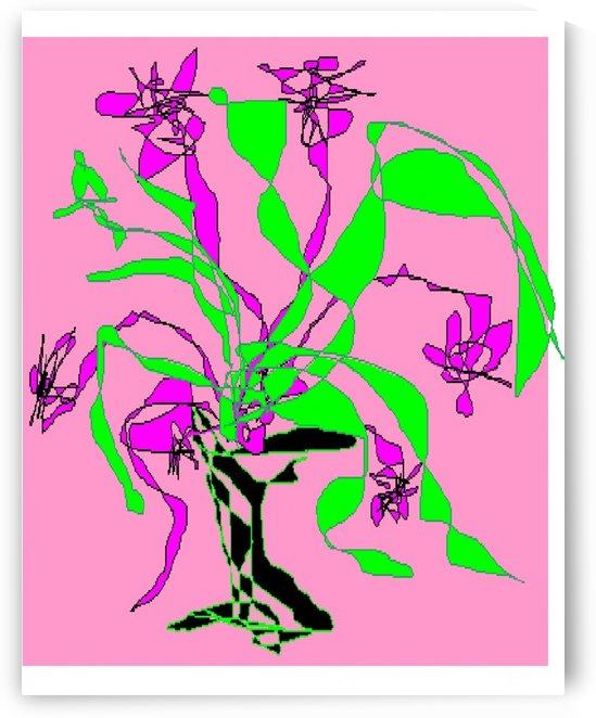 Art 09 Flowers in a vase by Dragan Mrkalj