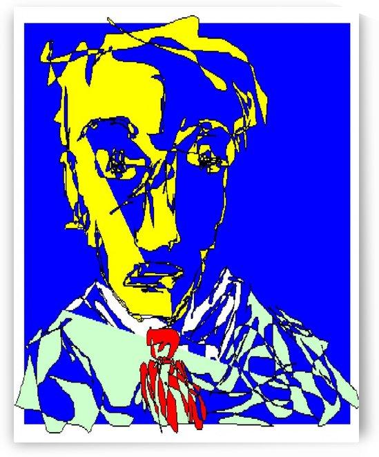 Art 12 Charles Pierre Baudelaire by Dragan Mrkalj