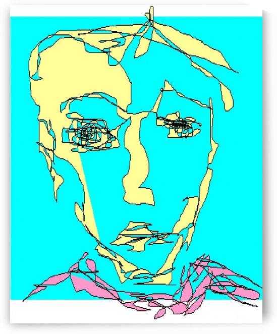 Art 17 A gentle young man by Dragan Mrkalj