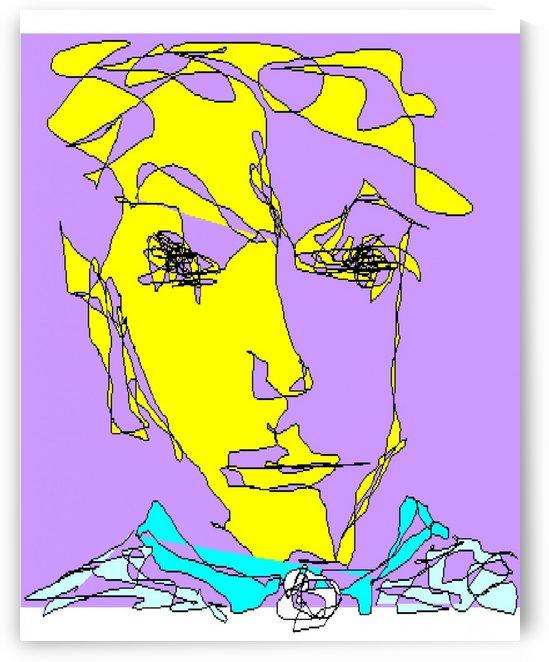 Art 20 Self portrait by Dragan Mrkalj