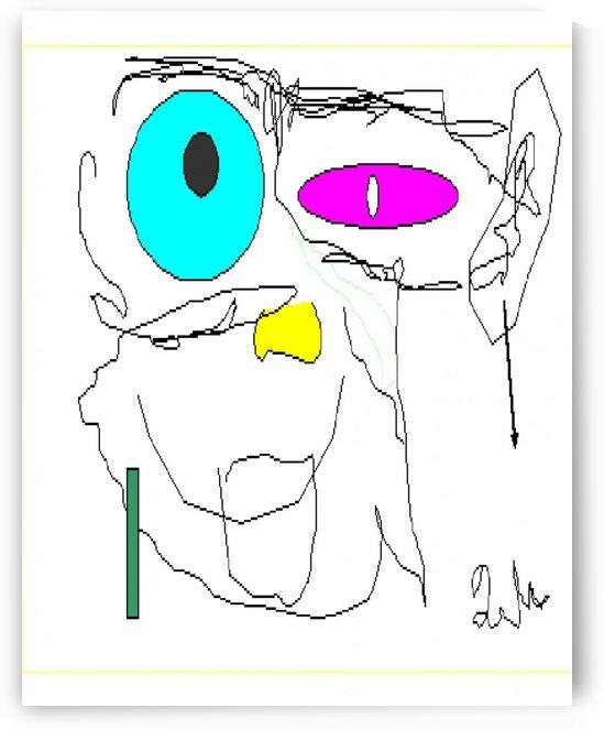 Art 33 Crazy teacher by Dragan Mrkalj