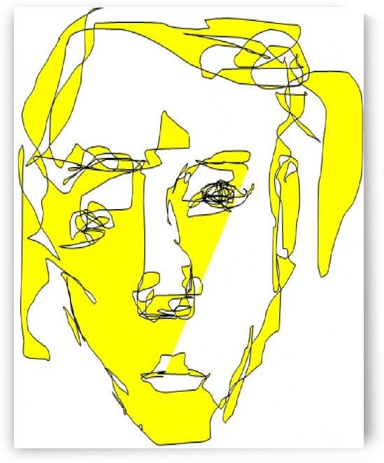 Art 36 Yellow illusions by Dragan Mrkalj