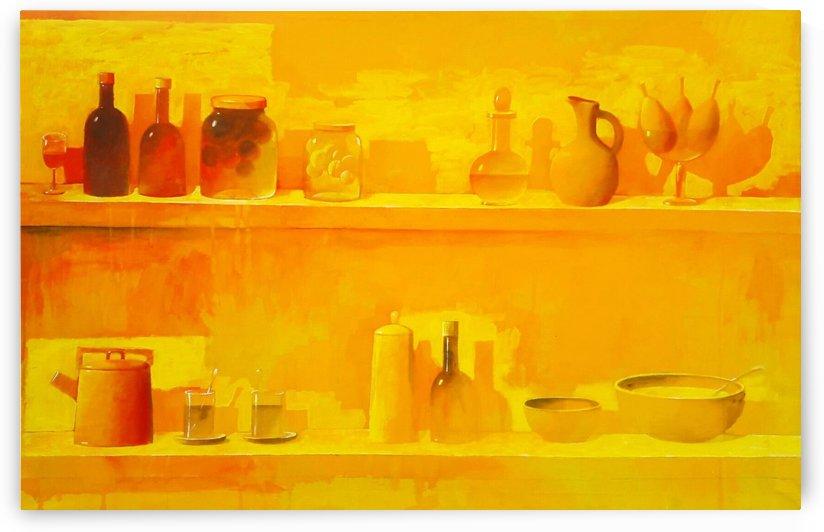 Sun in the Kitchen by Zurab Gikashvili