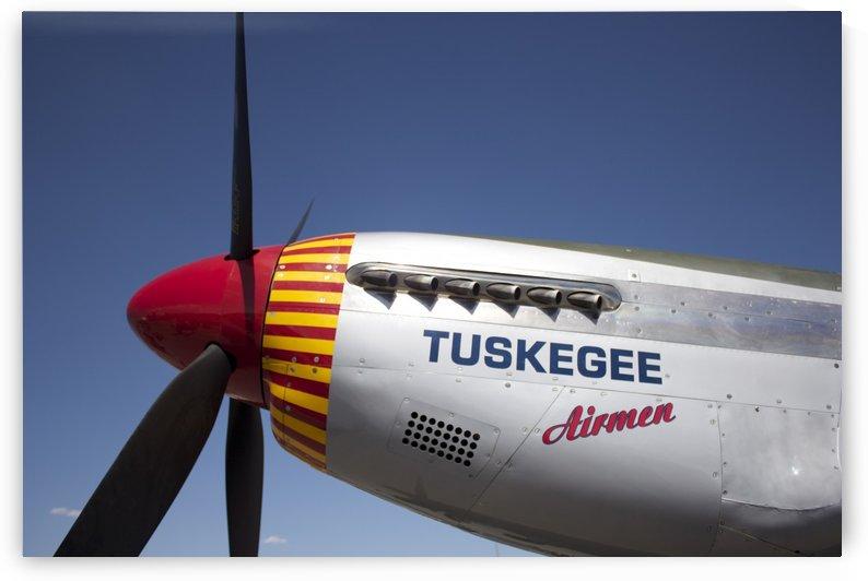 P-51 Redtail Nose by Wallshazam