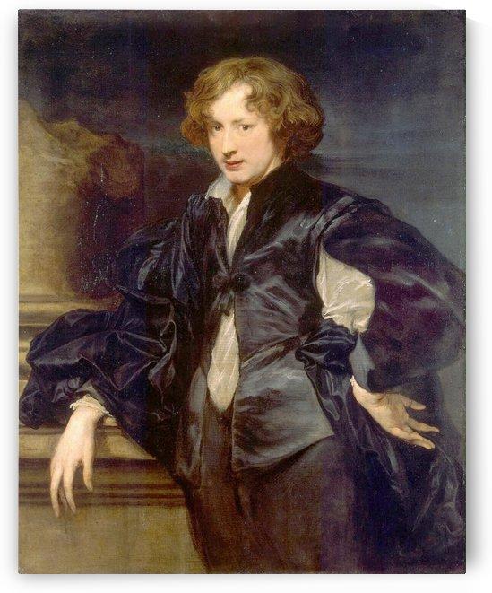 Zelfportret van Anthony van Dyck op ongeveer 20-jarige leeftijd by Anthony van Dyck