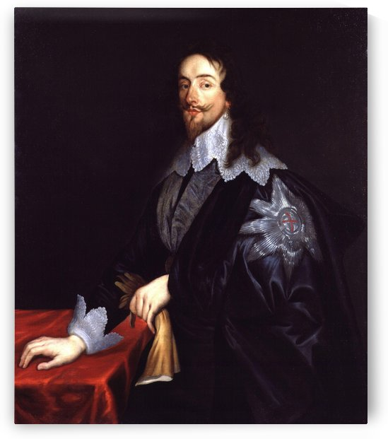 King Charles I by Sir Anthony Van Dyck by Anthony van Dyck