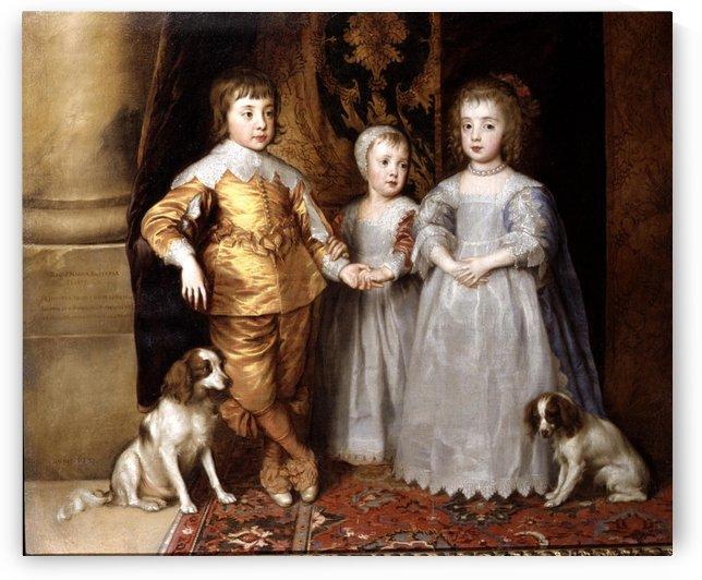 King charles spaniel by Anthony van Dyck