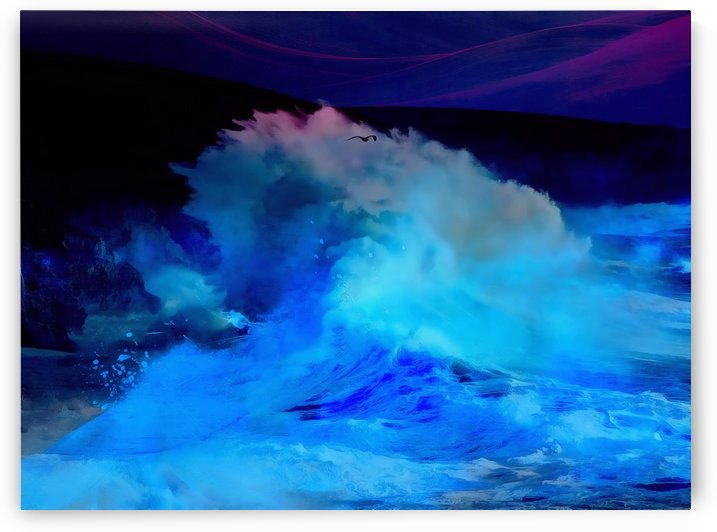Abstract Wave III by Richard D. Jungst