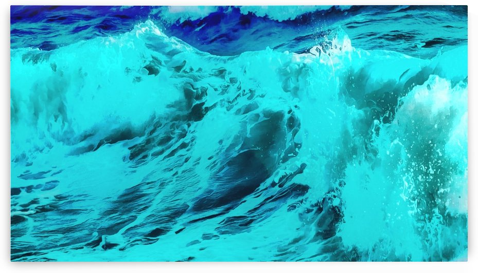 Abstract Wave VII by Richard D. Jungst