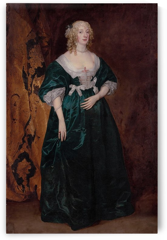 Anne Sophia, Countess of Carnarvon by Anthony van Dyck