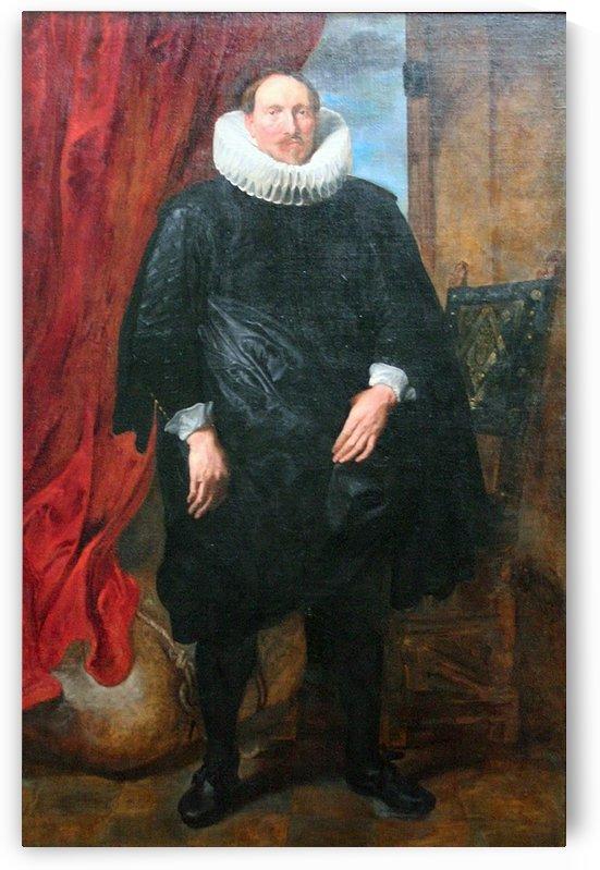 Portret van een man by Anthony van Dyck