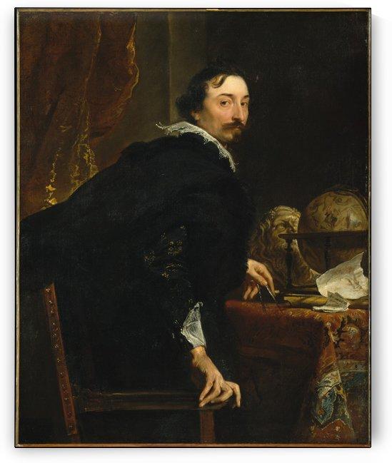 Lucas van Uffel by Anthony van Dyck