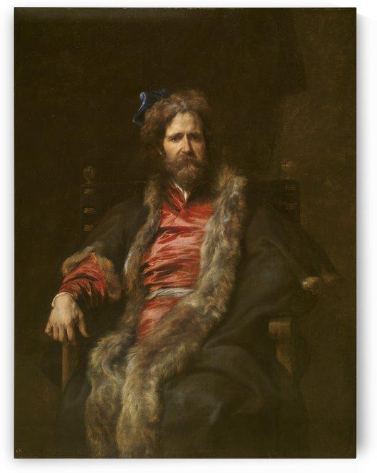 El pintor martin ryckaert-prado by Anthony van Dyck