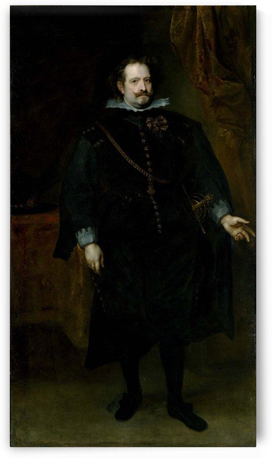Diego Felipe de Guzman, Marquis of Leganes by Anthony van Dyck