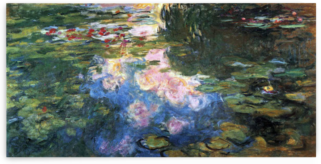 Water Lillies # 4 by Monet by Monet