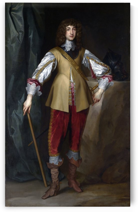 Prince Charles Louis, Count Palatine by Anthony van Dyck
