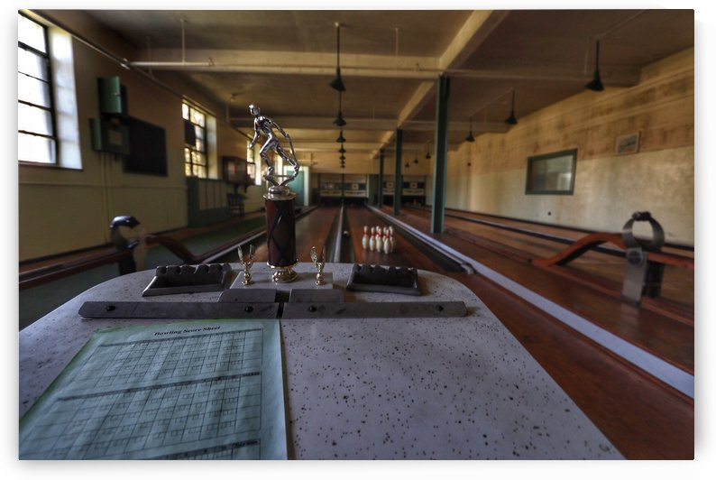 Abandoned Vintage Bowling Alley by RNK ALL DAY