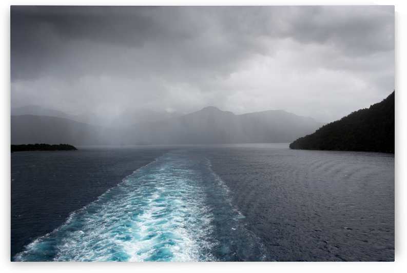 Leaving Fiordland New Zealand by Grant Cookson
