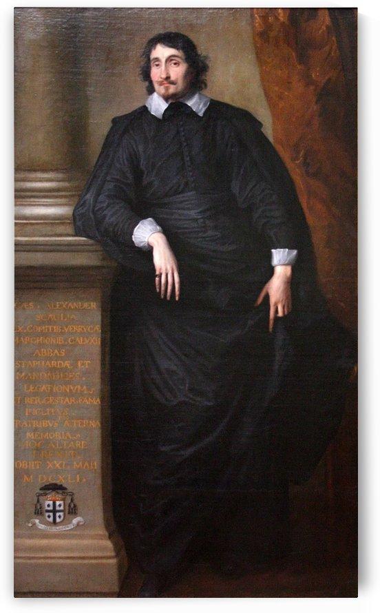Caesar Alexander Scaglia by Anthony van Dyck