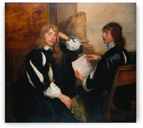 Thomas Killigrew and possibly Lord William Crofts by Anthony van Dyck