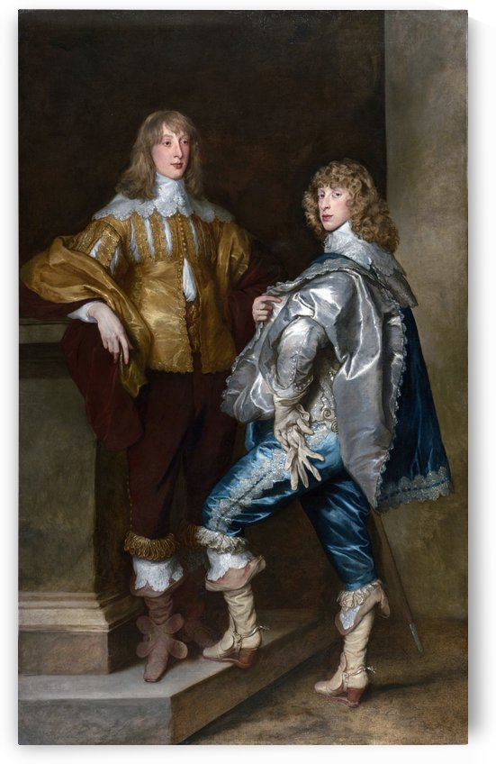 Lord John Stuart and His Brother Lord Bernard Stuart by Anthony van Dyck