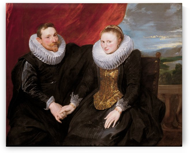 A married couple by Anthony van Dyck